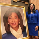 Judge Langford Morris portrait unveiling